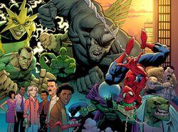 Amazing Spider-Man Vol 5 1 Wraparound Textless