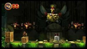 Donkey Kong Country Returns Boss 3 - Stu