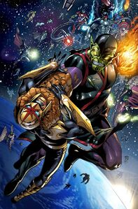 Super skrull vs nova