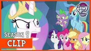 The Mane Six's Escape from the Legion of Doom (The Ending of the End) MLP FiM HD
