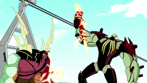 Vilgax and Kevin 11 vs Ben 10