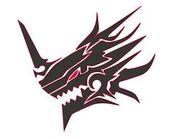 Demon Dragon Head Symbol
