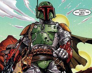 Fett Shadows of the Empire comic