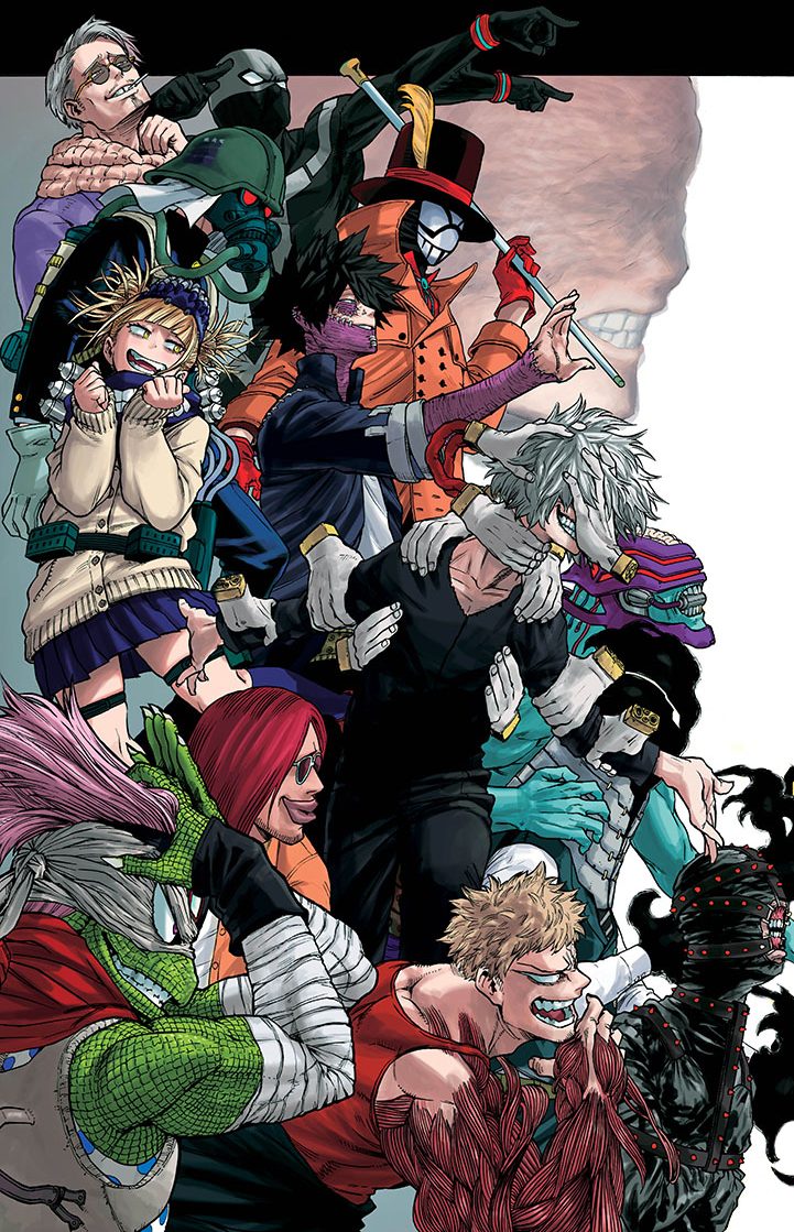 League Of Villains My Hero Academia Villains Wiki Fandom