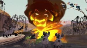 Lion Guard Scar's Scheme & Meeting Laini The Kilio Valley Fire HD Clip-0