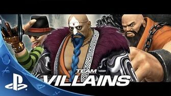 The King of Fighters XIV Team Villains