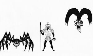 The Many Forms Of Aku VI by Nes44Nes