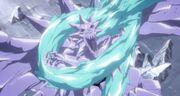 BDDR 016- Kusaka Dragon apresado por Hyorinmaru de Hitsugaya