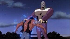 Clark Kent vs Future Brainiac