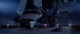 Darth Vader shuttle