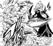 Estarossa destroys Galand