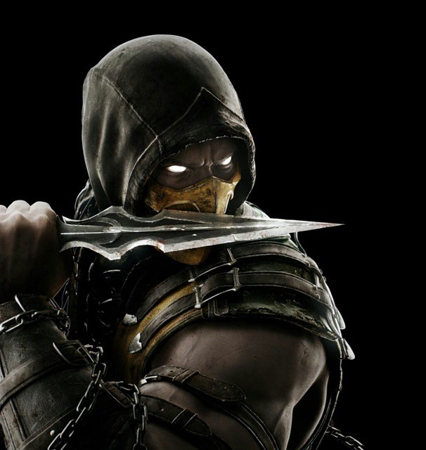 Image result for scorpion mortal kombat
