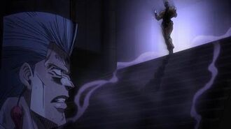 Stardust Crusaders S2 (English Dub) - DIO Messes with Polnareff