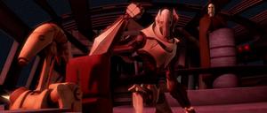 Count Dooku Grievous order