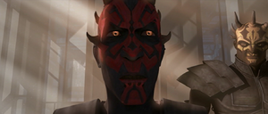 Darth Maul alone