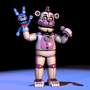 FNAFSL Funtime Freddy and Bonnie Hand Puppet Models