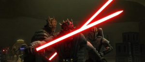 Maul angered