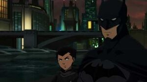 Son of Batman - Batman Meets His Son Damian (Robin) For The First Time
