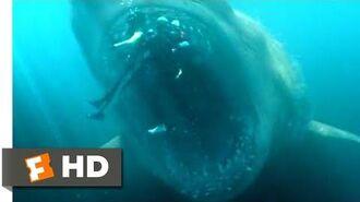 The Meg (2018) - Shark Cage vs. Megalodon Scene (5 10) Movieclips