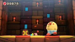 Yoshi's Woolly World Boss 2 - Burt the Bashful