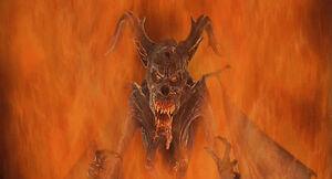 Akivasha's Demon Form