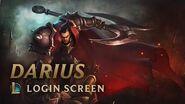 Darius, the Hand of Noxus Login Screen - League of Legends