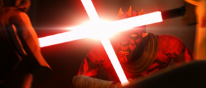 Darth Maul clash