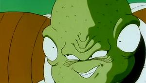 Guldo's evil grin