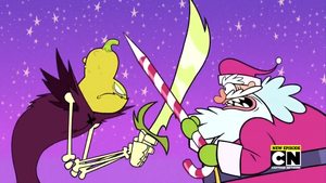 Halloween Spirit vs. Santa Claus