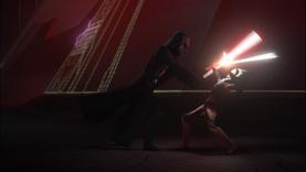 Darth Vader overwhelms