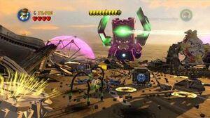 LEGO Marvel Super Heroes - Stage 14 Galactus Boss Battle