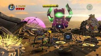 LEGO Marvel Super Heroes - Stage 14 Galactus Boss Battle