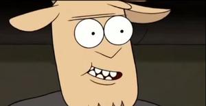 Thomas evil grin