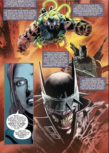 Batman Pennyworth R.I.P. Bane, The Grim Knight, and The Batman Who Laughs