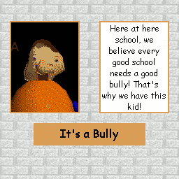 Bully's Page in detention