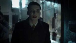 Gotham 4x21 Jeremiah meets Penguin and Barbara