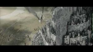 LOTR The Return of the King - The Nazgul Attack