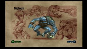 Moloch Mortal Kombat Deadly Alliance loading