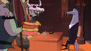 S1E16 Toffee and Ludo making a deal