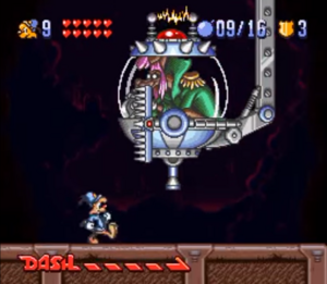 The Collector in Bonkers (SNES)
