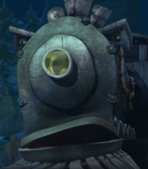 The Nightmare Train's disguise form