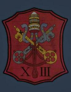13 badge