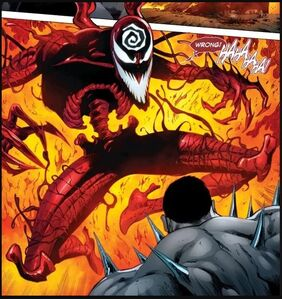 Cletus Kasady (Earth-616) and Clayton Cortez (Earth-616) from Absolute Carnage Weapon Plus Vol 1 1 0001