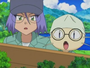 James and Meowth (DP089)
