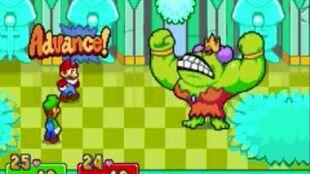 Mario and Luigi superstar saga boss battle Queen bean