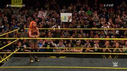 Becky-ovation