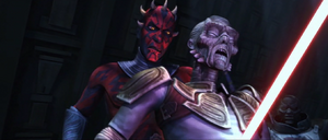 Darth Maul kills