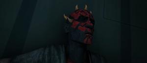 Darth Maul landed