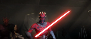 Darth Maul pursuit