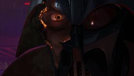 Darth Vader face